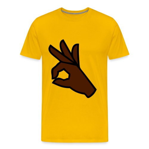 OOO SCM jaune - T-shirt Premium Homme