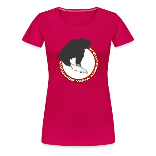 Vastuullinen naisten t-paita - Naisten premium t-paita