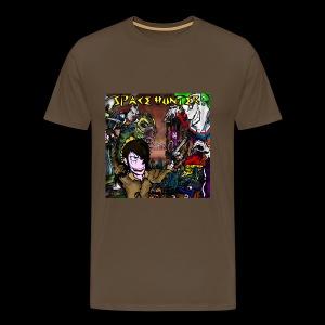 Space Hunter Front Shirt - Maglietta Premium da uomo