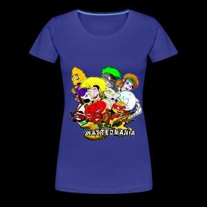 Wastedmania Heroes Girl - Maglietta Premium da donna