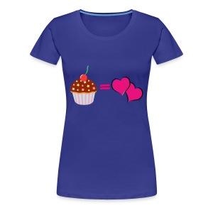 Cake Is Love Womens T - Women's Premium T-Shirt
