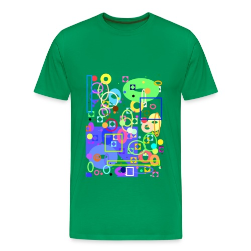 cubism - Maglietta Premium da uomo