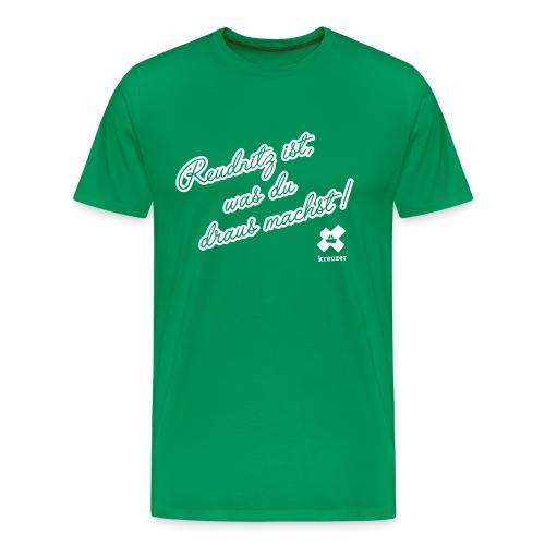 kreuzer-Shirt Reudnitz Herren - Männer Premium T-Shirt