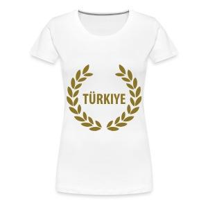 Turkije t-shirt - Vrouwen Premium T-shirt