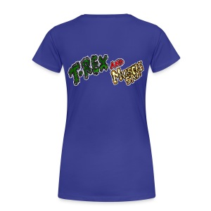 T-REX and Muscle SAM Rulez Girl - Maglietta Premium da donna