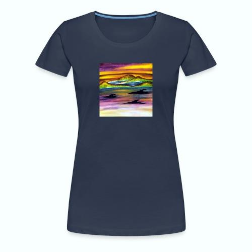 Delfine - Frauen Premium T-Shirt