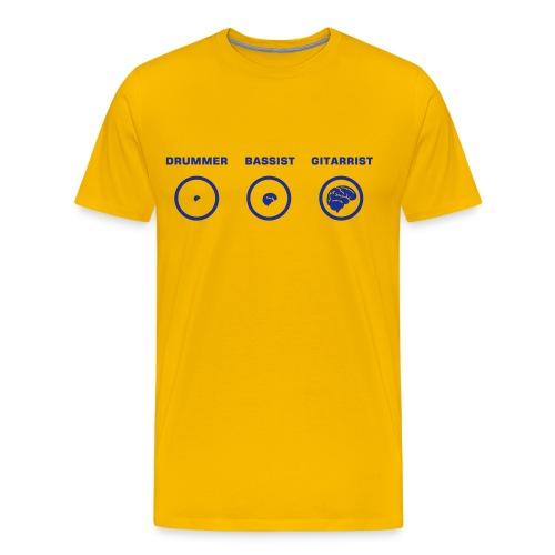 Brains - Camiseta premium hombre