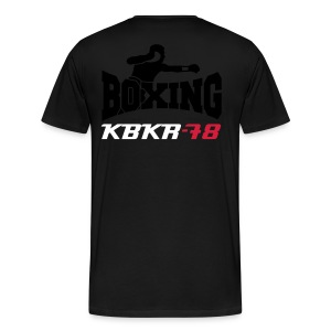 T-Shirt Continental Clothing Homme Boxing KBKR78 - T-shirt Premium Homme