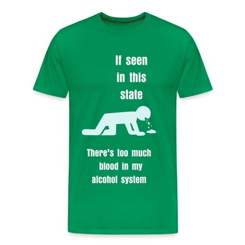 Alcohol System - Men's Premium T-Shirt