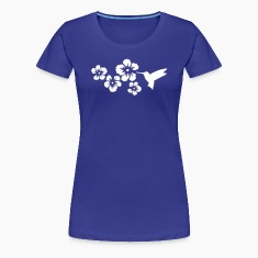 hummingbird hibiscus flowers T-Shirts