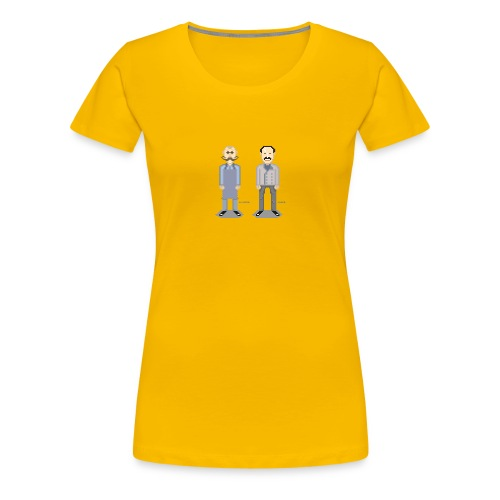 Lichter und Lafer - Frauen Premium T-Shirt
