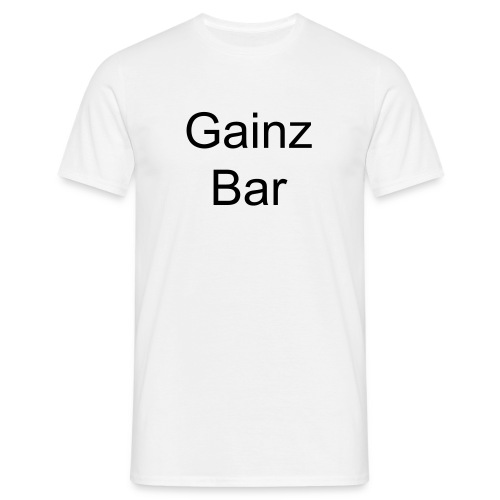 gainz bar (h) - T-shirt Homme