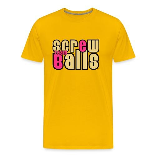 Teamshirt - Team Screw Balls - Mannen Premium T-shirt