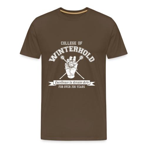 College of Winterhold - Men's Premium T-Shirt