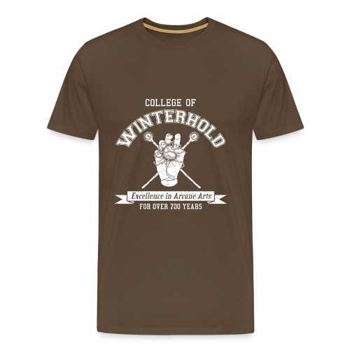 College of Winterhold - Men's Premium T-Shirt