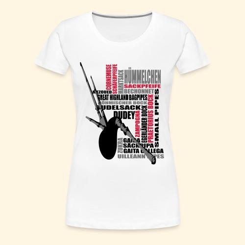 Frauen Girlie - Dudelsack - Frauen Premium T-Shirt
