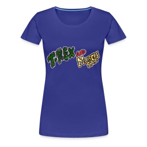 T-REX and Muscle SAM Logo Girl - Maglietta Premium da donna