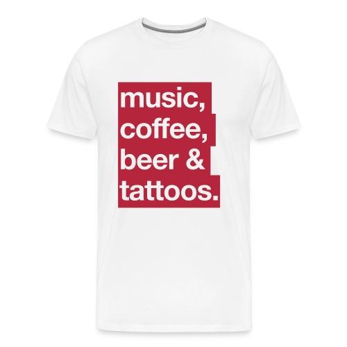 MCBT Men - Männer Premium T-Shirt