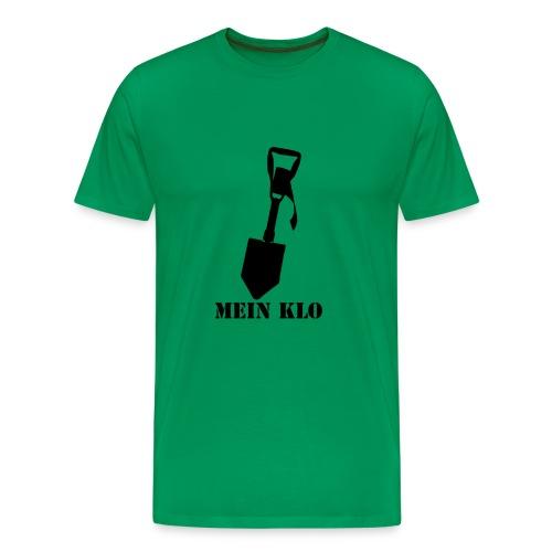 ...alles andere ist nur  - Männer Premium T-Shirt