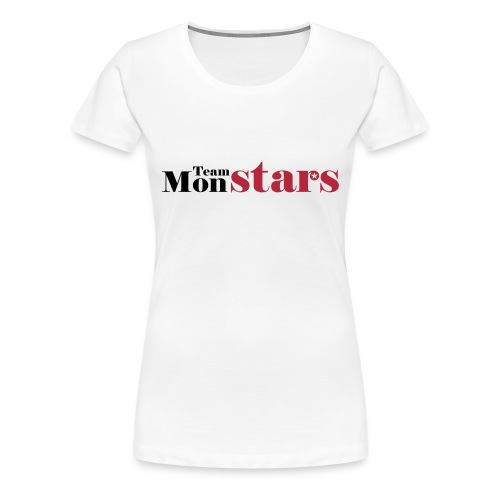 Teamshirt - MonStars - Vrouwen Premium T-shirt