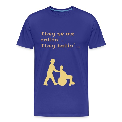 They see me rollin SUMMER - Männer Premium T-Shirt