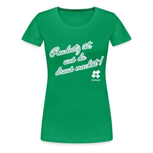 kreuzer-Shirt Reudnitz Damen - Frauen Premium T-Shirt