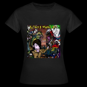 Space Hunter Front Girl - Maglietta da donna