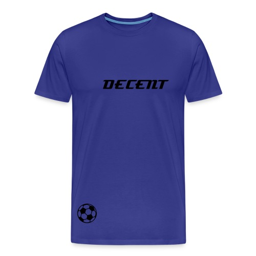 Joe Hart 'Decent' T-Shirt - Men's Premium T-Shirt