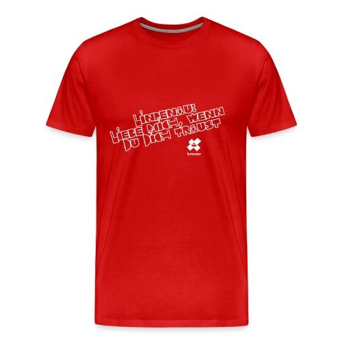 kreuzer-Shirt Lindenau Herren - Männer Premium T-Shirt