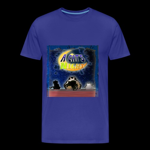 Cat's Night Front Shirt - Maglietta Premium da uomo