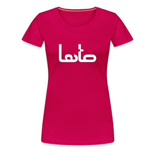 LATO lady - Maglietta Premium da donna