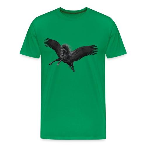 black Pegasus - Männer Premium T-Shirt