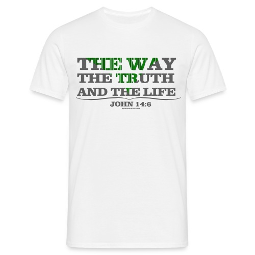 WAY/TRUTH/LIFE // Jungs - Männer T-Shirt