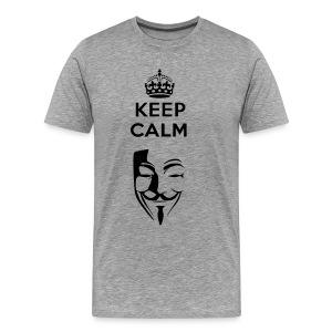 Keep Calm  - Mannen Premium T-shirt