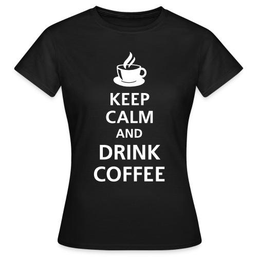 koszulka keep calm - Koszulka damska