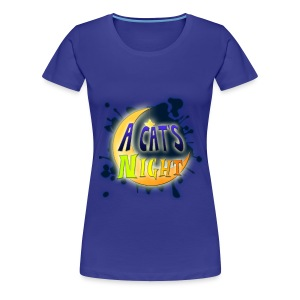 Cat's Night Logo Girl - Maglietta Premium da donna