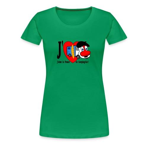 T-shirt J'aime la France en Camping-Car pour Madame! - T-shirt Premium Femme