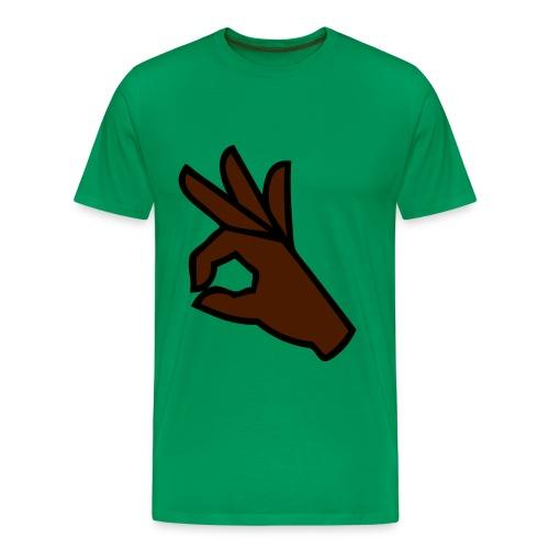 OOO SCM vert - T-shirt Premium Homme