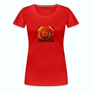 Energiewirbel - Frauen Premium T-Shirt
