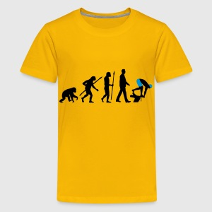 evolution_schwimmer_102012_a_2c T-Shirts - Teenager Premium T-Shirt