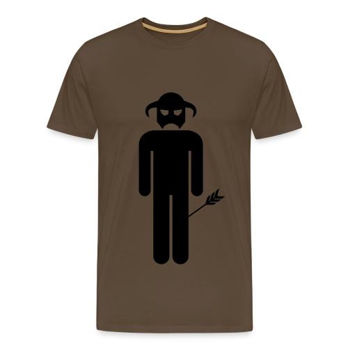 Arrow To The Knee - Men's Premium T-Shirt