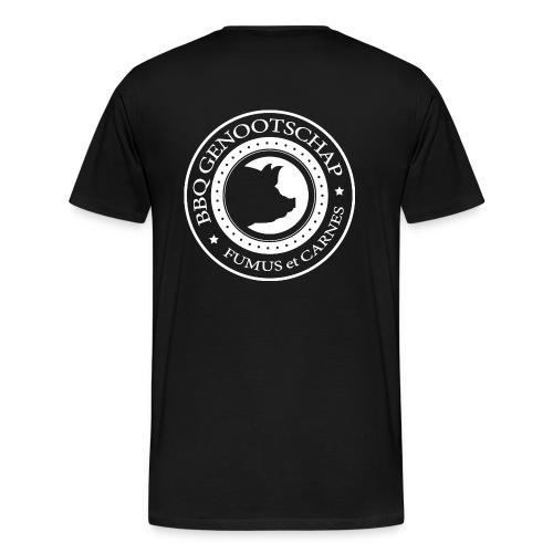 BBQ Genootschap t-shirt - Heren - Mannen Premium T-shirt