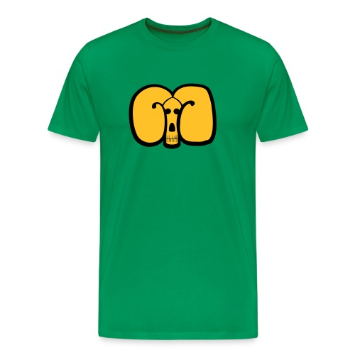 Maskin green Goat Tee - Premium-T-shirt herr