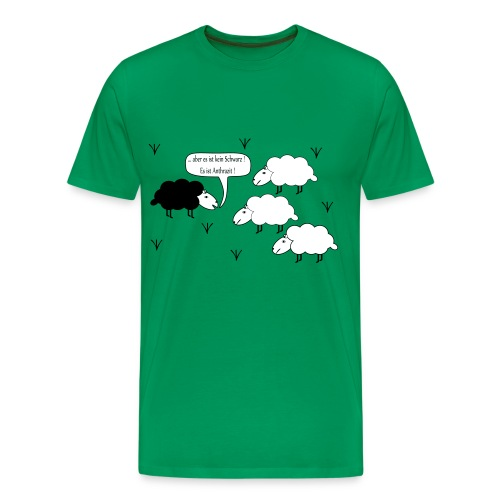 Schwarzes Scharf - Männer Premium T-Shirt