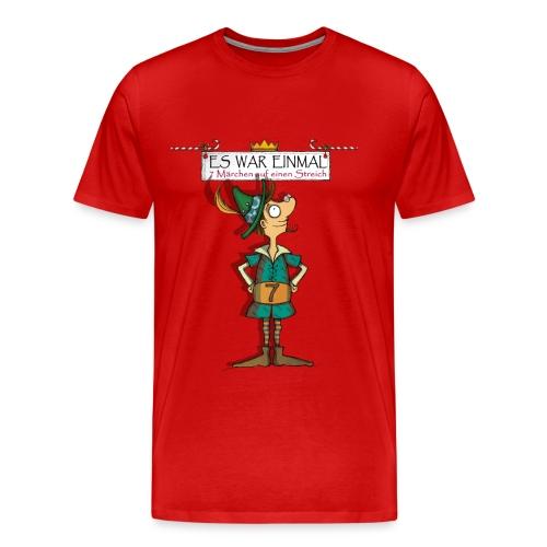 ES WAR EINMAL ... – Schneiderlein - Männer Premium T-Shirt