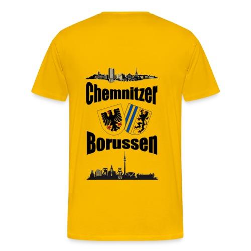 Shirt Gelb - Männer Premium T-Shirt
