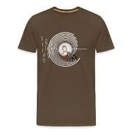 T-Shirts ~ Men's Premium T-Shirt ~ Hollens Brwn