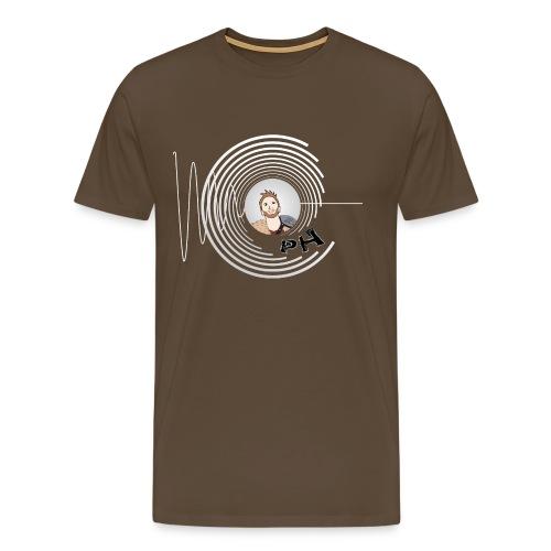 Hollens Brwn - Men's Premium T-Shirt