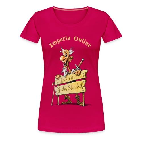 Blitz Cherry Female T-Shirt - Women's Premium T-Shirt
