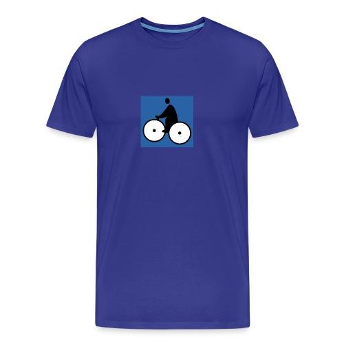 LOGO Fatman's Bleu - T-shirt Premium Homme